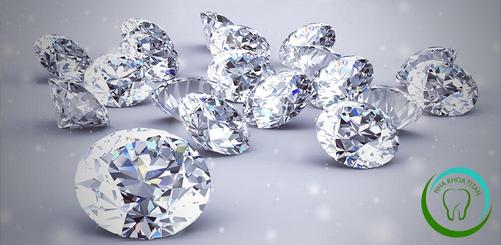 gắn đá kim cương